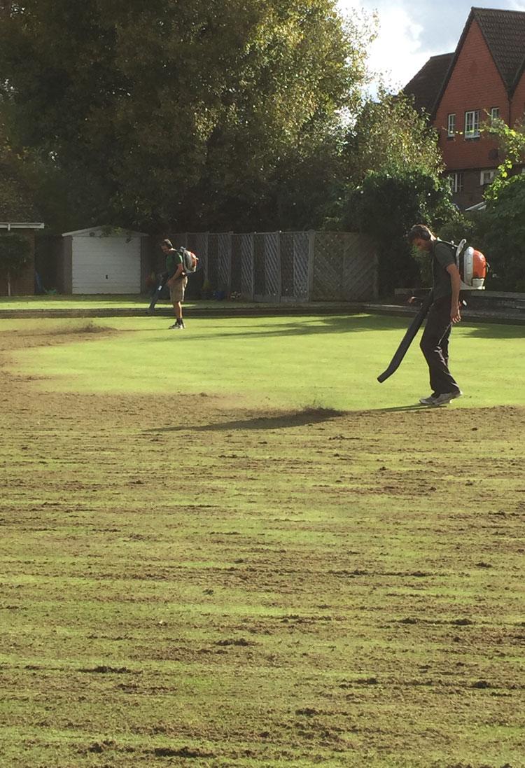 Bowling green renovation
